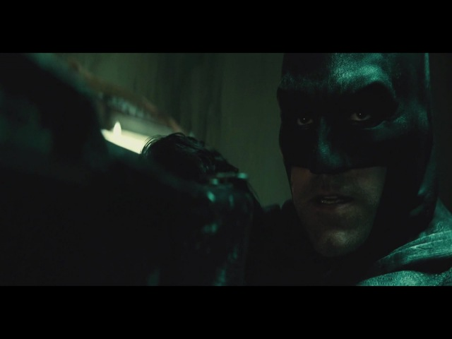 Batman V Superman ''Batman Saves Martha'' Warehouse Scene 1080p