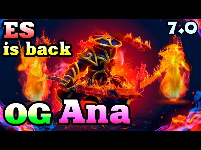 OG Ana - Ember Spirit - Forgotten HERO returns in NEW Patch 7.00 - Dota 2