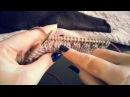 6) Как прибавлять петли без дырочки.ВЯЗАНИЕ СПИЦАМИ ДЛЯ НАЧИНАЮЩИХ.Школа вязания