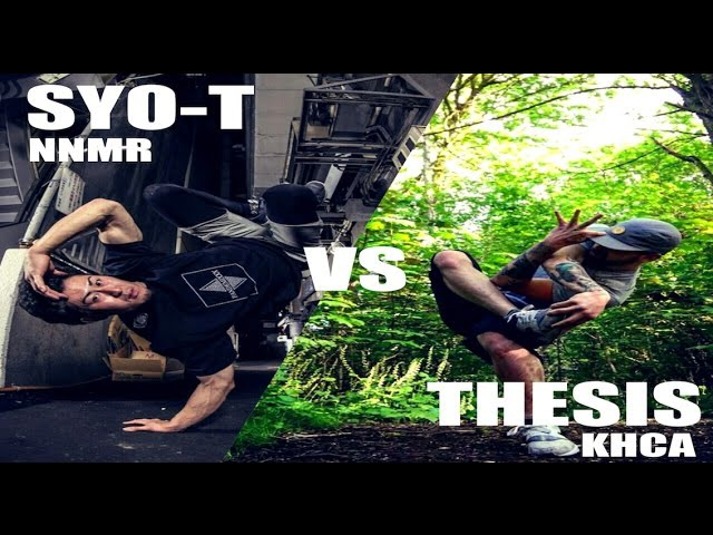 【EXHIBITION BATTLE】bboy SYO-T vs bboy Thesis │ Flavor of the Month 4 │FEworks