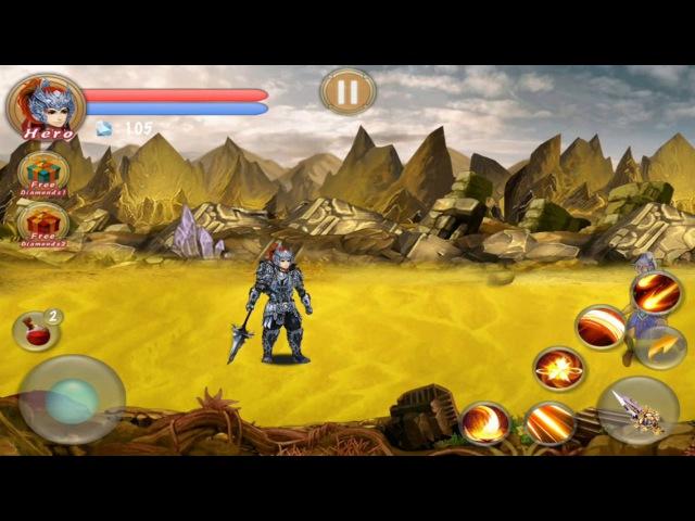 Demon Hunter Pro. iOS Gameplay.