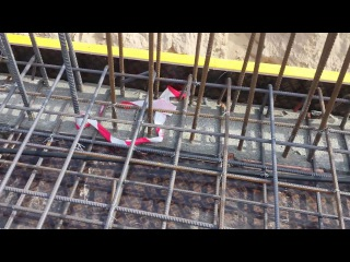 Mechanical works in the slab sleeves and boxes and shafts- الاعمال الميكانيكية في البلاطة 1
