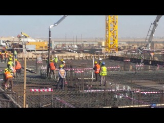 Live pouring concrete for basement slab -صب الخرسانة لبلاطة سرداب مباشرة من 157