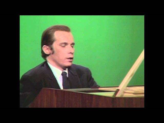 Glenn Gould - Bach, Prelude Fugue XIV in F-sharp minor Fuga (OFFICIAL)