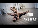 Duo acrobatic Art Way ● artwayacro@ ●odintsova yulia@