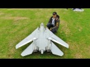 ③ LARGE SCALE RC FLYEAGLE SWINGWING GRUMMAN F14 TOMCAT TWIN TURBINES WESTON PARK MODEL SHOW - 2016