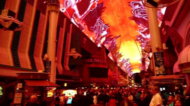 The Doors — Strange Days Viva Vision show, Fremont Street Experience, Las Vegas 2010