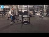 Mojo Rawley Training for WWE   Muscle Madness