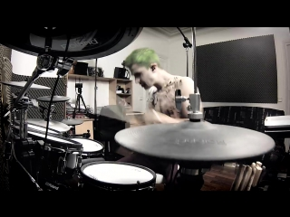 Heathens (Suicide Squad OST) - Twenty one Pilots - Drum Cover By THE JOKER (aka Adrien Drums)