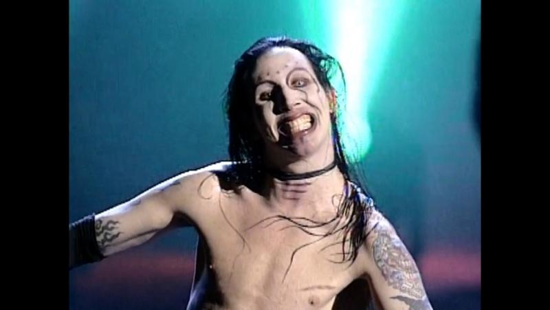 Marilyn Manson - The Beautiful People (MTV VMA 1997) UpConvert-720p