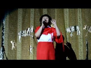 Елена Данилова со стихотворением Андрея Дементьева