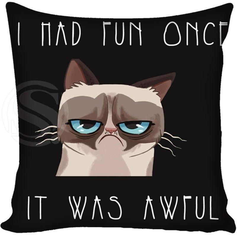 Подушки Grumpy Cat
