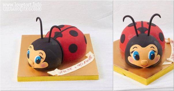 """Торт """"Божья коровка"""", 2,5 кг cake"""