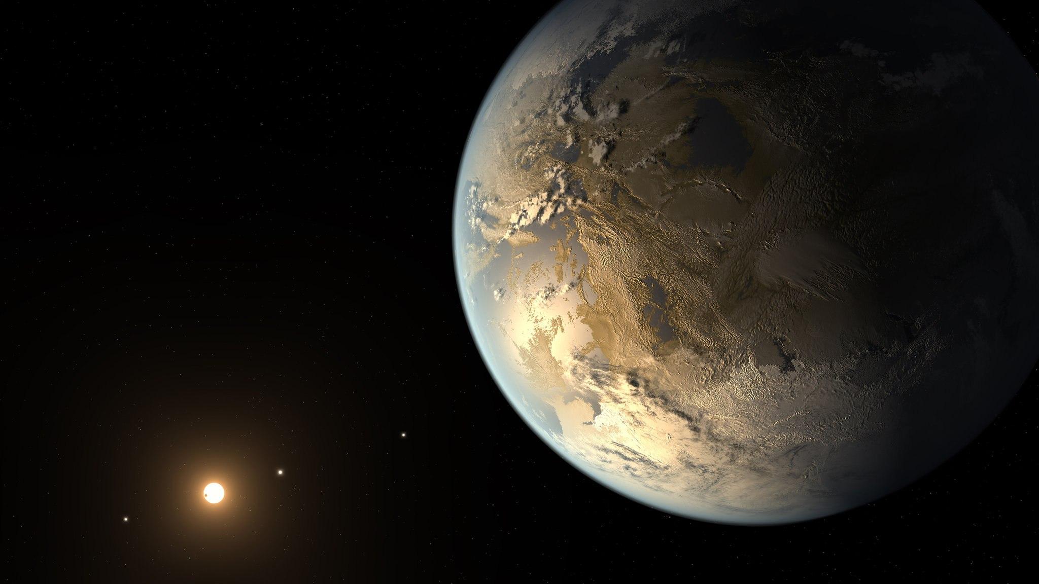 Найдена планета — копия Земли  Астрономы обнаружили «близнеца» Земли.