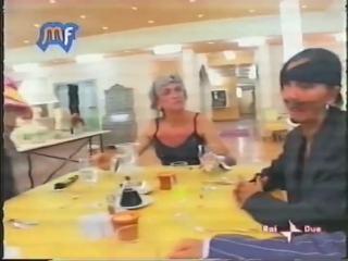 Fiordaliso, Ricchi e Poveri и Riccardo Fogli  на шоу Music Farm 2004