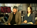 Anne Hathway  Robert De Niro Interview - How Female Producers Can Help Female Directors and Actors