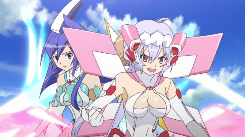 13 серия [TV-1] — Симфогир: Песнь боевых принцесс/Senhime Zesshou Symphogear [AniDub]