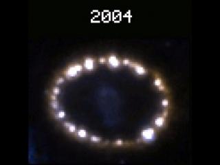 взрыв сверхновой звезды в созвездии Тукана