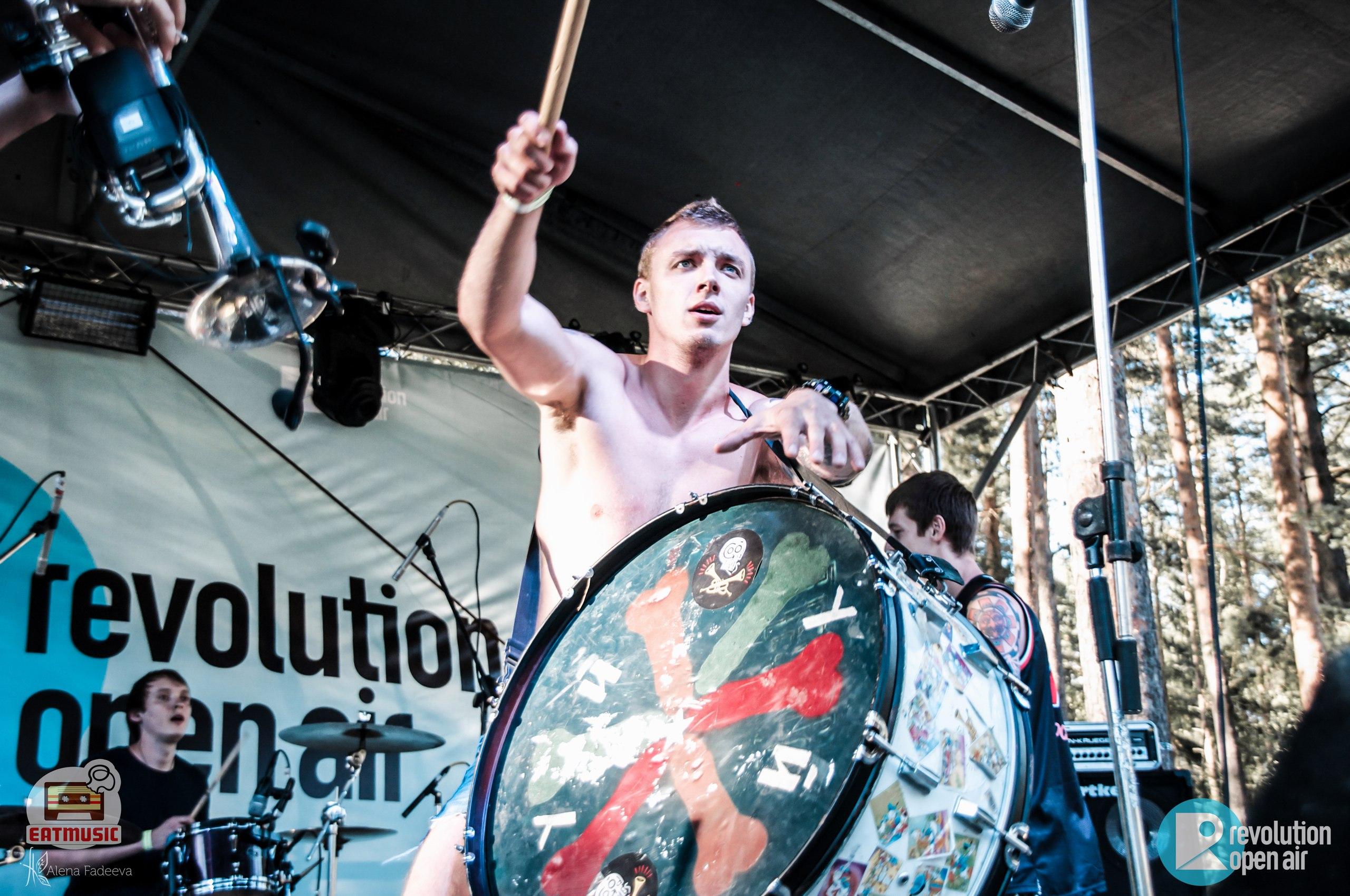 Рок-фестиваль REVOLUTION OPEN AIR 2016