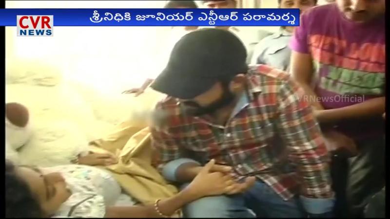 Jr NTR to fulfill a cancer Patient Srinidhi Last Wish at Hyderabad - CVR News