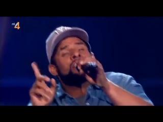 Реинкарнация Bob Marley на шоу голос Голландии, БОБ МАРЛИ ЖИВ!