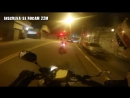 Motorcycle Police chases.helmet cam Brazil.Part 1