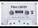 Flint LSD25 i know what you dont demo tape Drone
