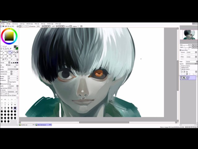 【Tokyo Ghoul】Kaneki Ken speed paint 【5th Anniversary】