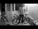 Замена тормозных ручек на трековом велосипеде (с булхорном - bullhorn)