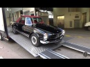 BRABUS MERCEDES-BENZ 280SL - DELIVERY IN MONACO!