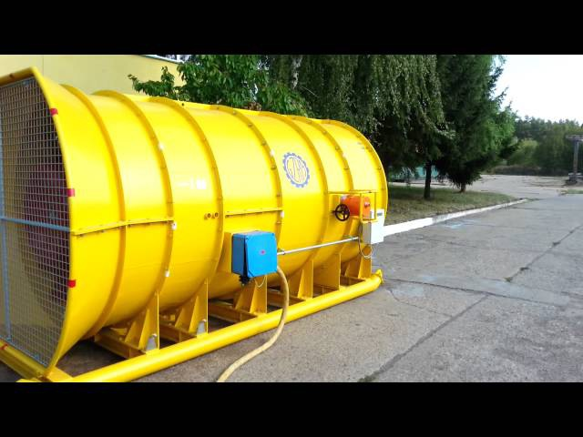 Line Start Permanent Magnet Synchronous Motor (160kW, 750rpm) driving an axial fan
