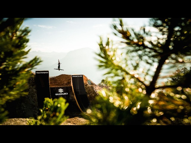 Diego Caverzasi Backflip Cliffhanger | Suzuki Nine Knights MTB 2016