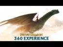 Полет на драконе - 360 VR видео