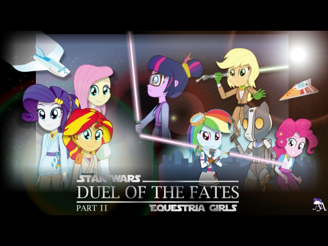 Duel of the Fates : Part 2 [MLP: Equestria Girls x Star Wars Crossover Animation]