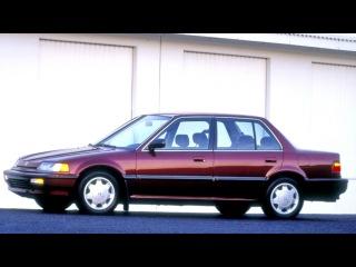 Honda Civic Sedan North America EF 1990–91