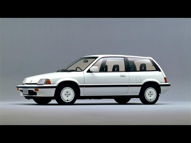 Honda Civic 25R White JP spec 1986