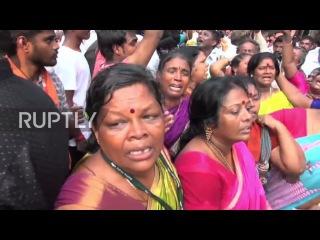 Индия: Тысячи оплакивал смерть влиятельного политика «Амма» Джаялалита.