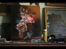 Цветы в корзине Still life with flowers Часть 2.
