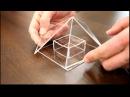 Сборка пирамиды для заточки лезвий