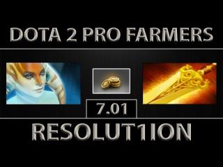 Resolut1on Naga Siren Fast Farm ► Feat. Dendi TA ► Dota 2 [7.01]