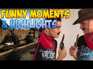 Na'Vi vs SK GAMING - Wild Wild Bootcamp Showmatch - Funny Moments, Highlights, Clutches - CSGO #1