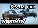 GTA 5 - $0 Car Vs. $5,745,600 Car