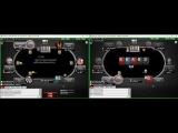 Покер Вод Кэш Холдем NL 2$ ZOOM. Обучение покеру. Как заработать на покере 2000$ в месяц?...