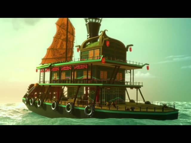The Tall Tale of Sqiffy Bucko - LEGO Ninjago: Sky Pirates - Mini Movie