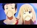 Аниме красивый клип о любви Ты так красива любовь