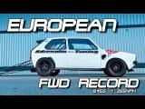 NEW European FWD Record! VW Golf Mk1 DSG 8,45s VW Action Santa Pod 2016