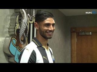 Newcastle United sign Daryl Murphy and Achraf Lazaar