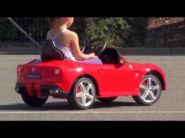 Детский электромобиль Rastar Ferrari F12 1