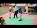 Темникова Анастасия 8 9 до 30 кг 1 бой 2 раунд