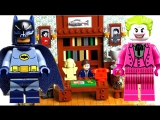 LEGO Super Heroes 76052 Batcave Batman Classic TV Series speed build. Warlord Лего